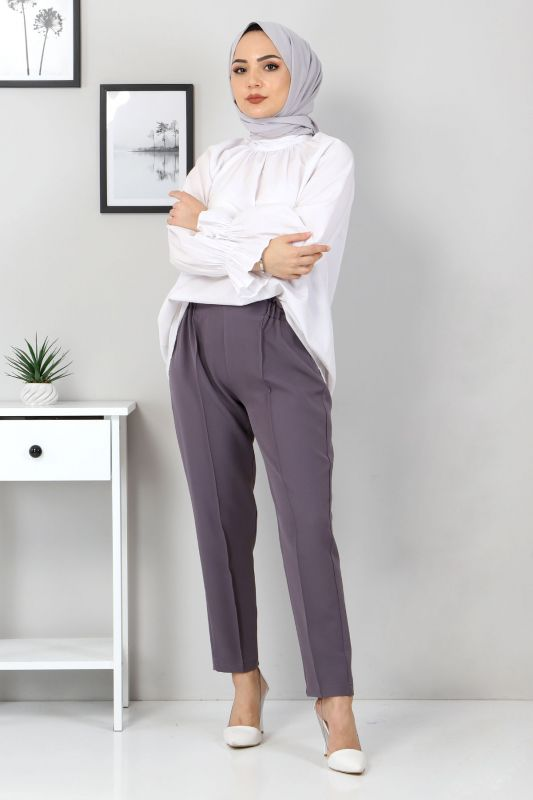 Beli Lastikli Pantolon TSD9905 Antrasit