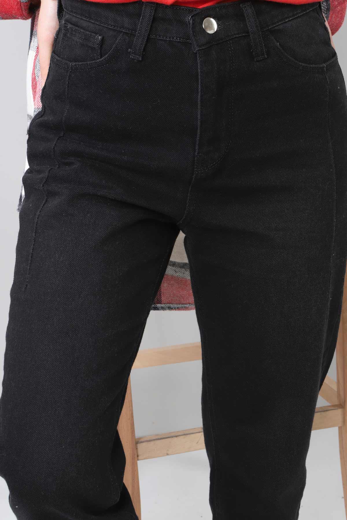 Boyfriend Kot Pantolon TSD22009 Siyah