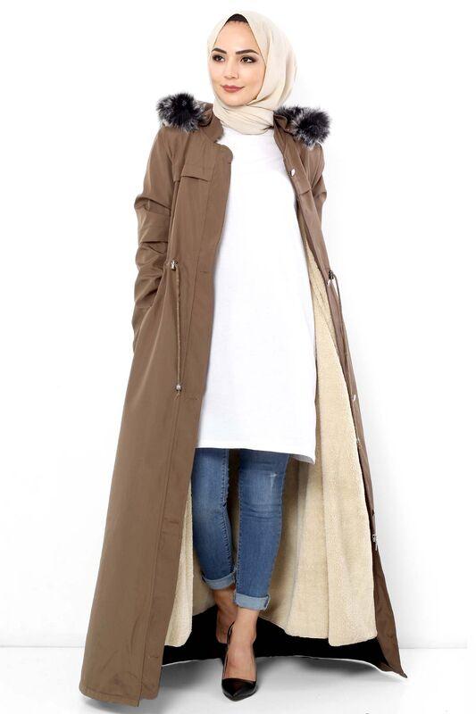 Full Length Fur Coat TSD0883 Mink