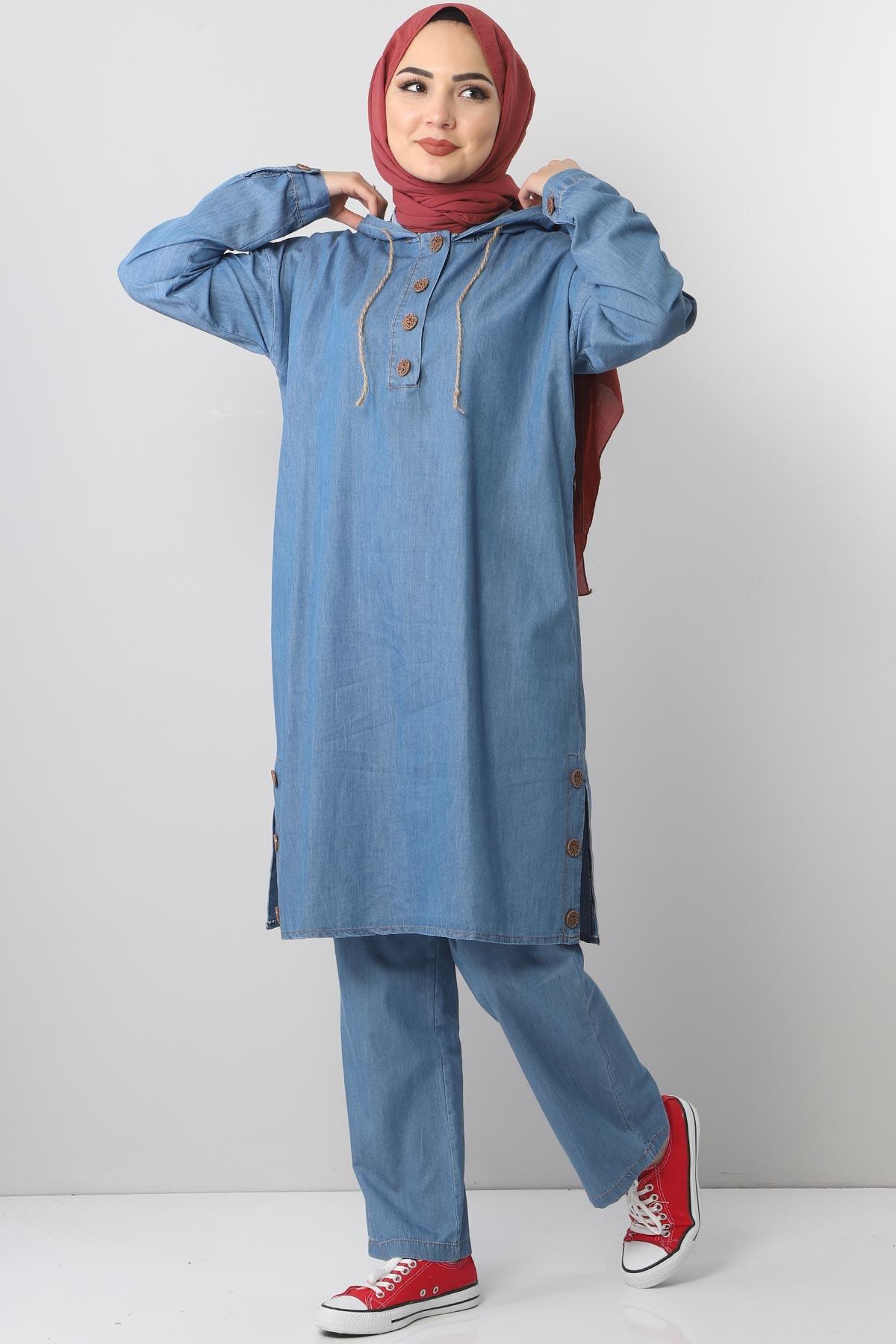 Jeans Suit TSD0454 Light Blue