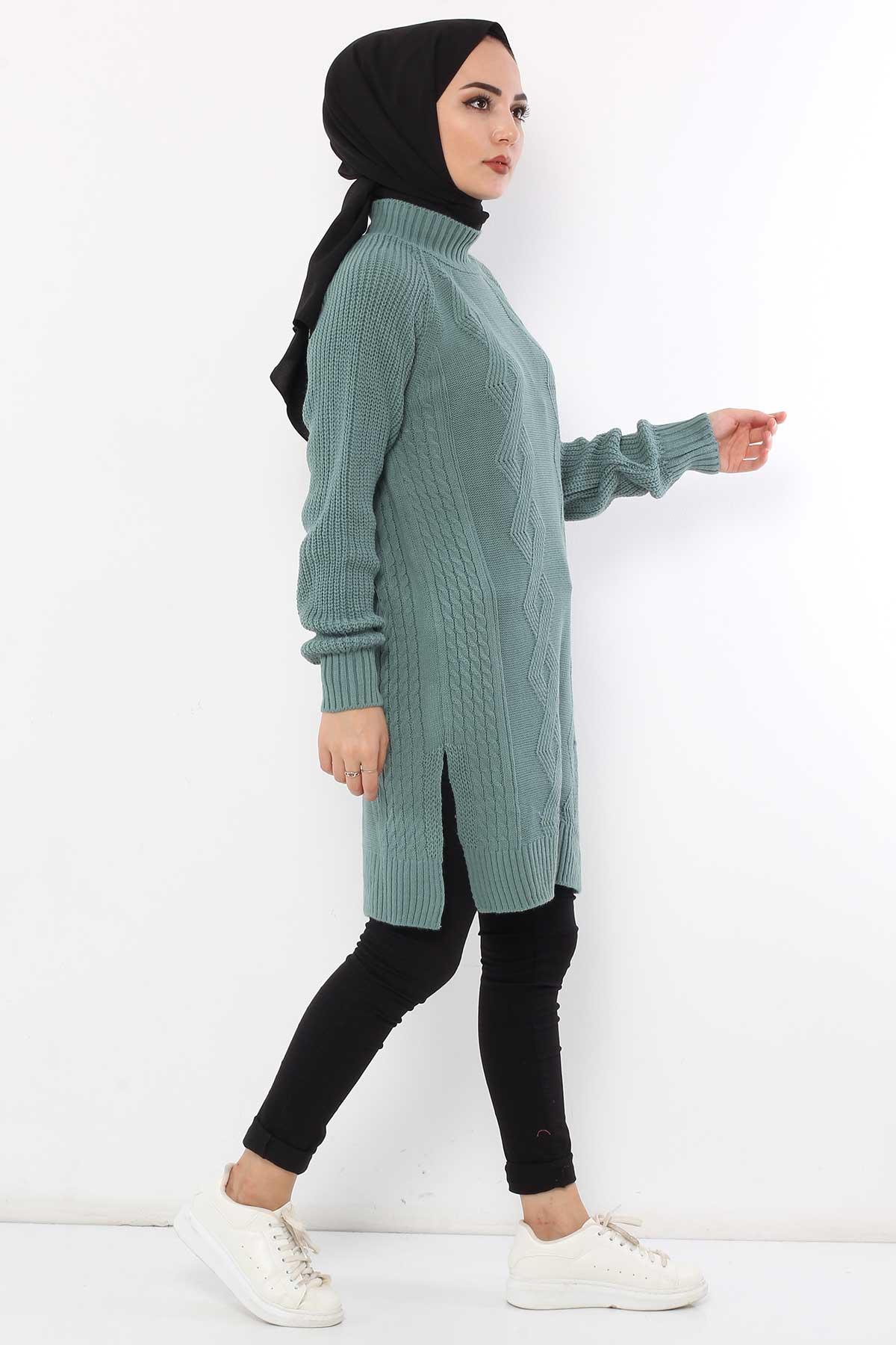 Knitting Sweater TSD3648 Mint