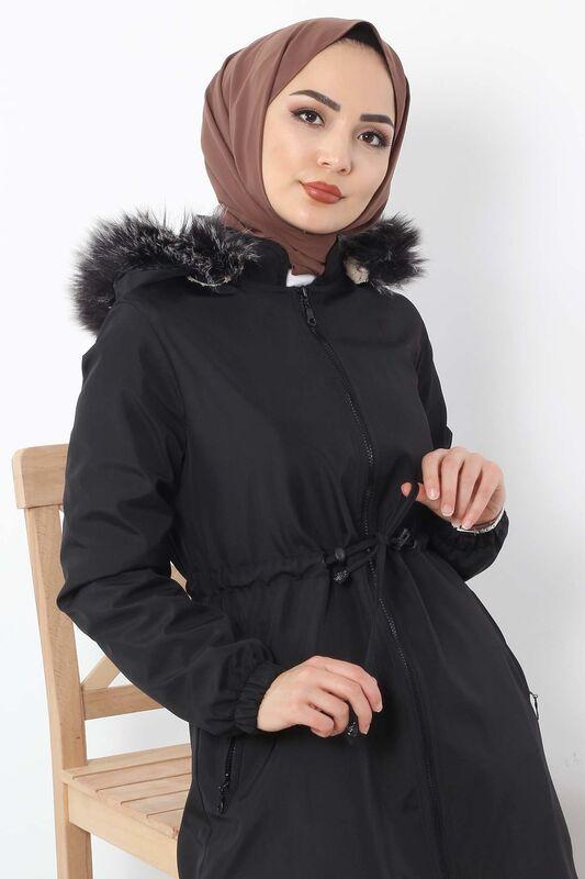 Laced Waist Coat TSD3010 Black.