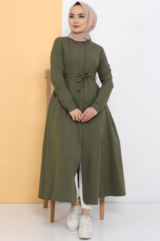Long Tunic TSD2738 Khaki