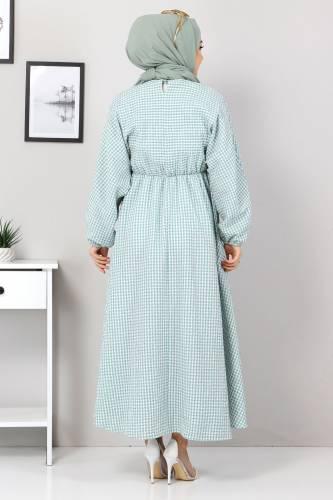 Mevlana Elbise TSD4413 Mint Yeşili - Thumbnail