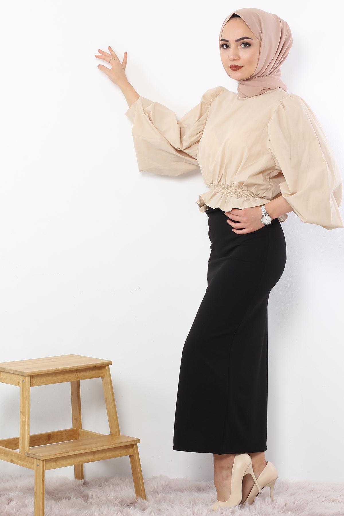 Pencil Skirt TSD0291 Black