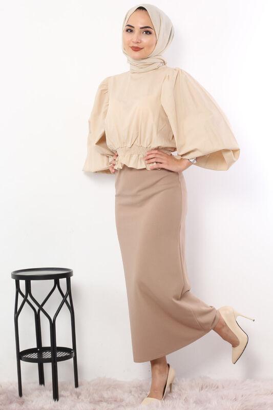 Pencil Skirt TSD0291 Mink