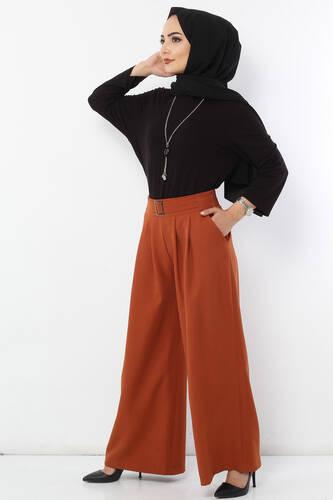 Pleated Skirt Trousers TSD2789 Tile - Thumbnail