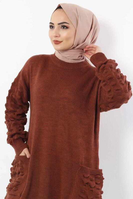 Pocketed Tricot Tunic TSD0059 Tile