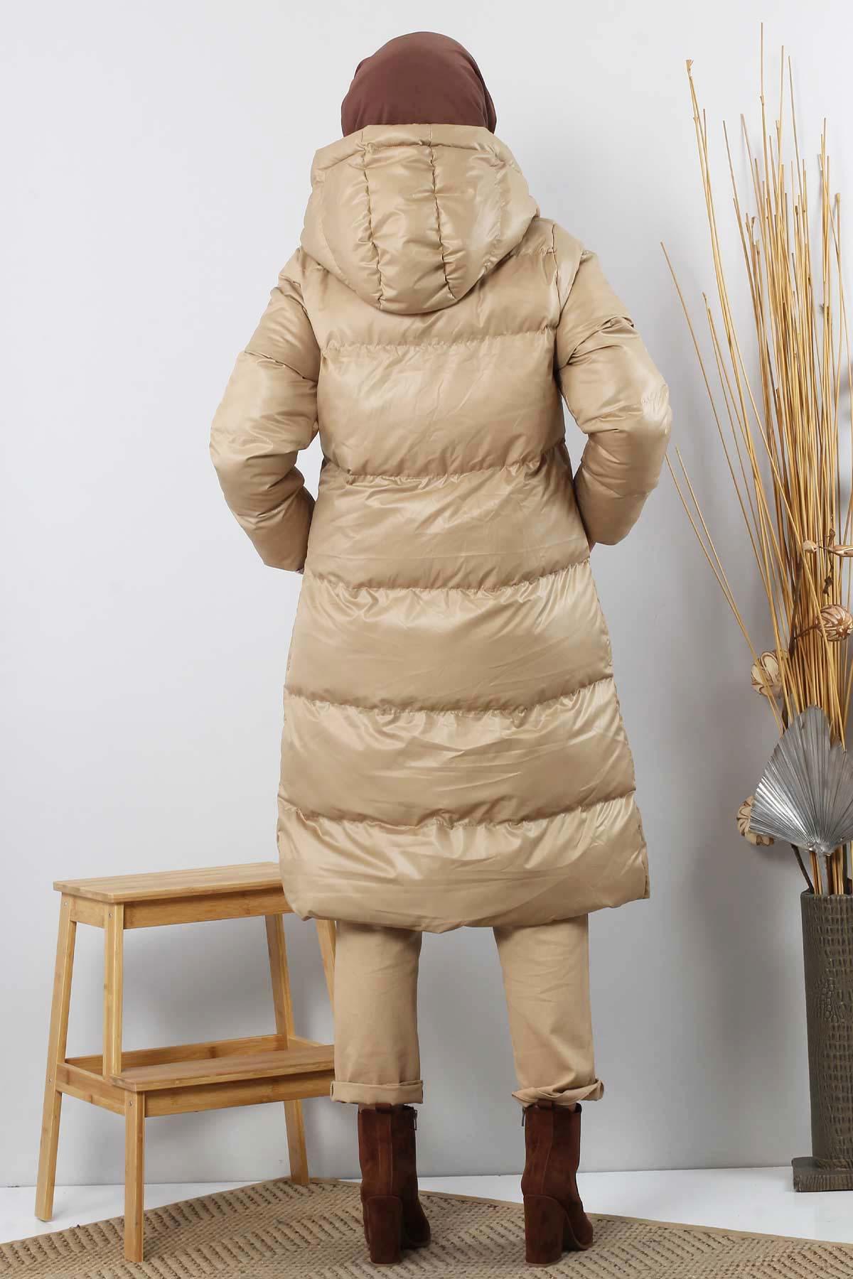 Puffer Coat TSD2250 Beige