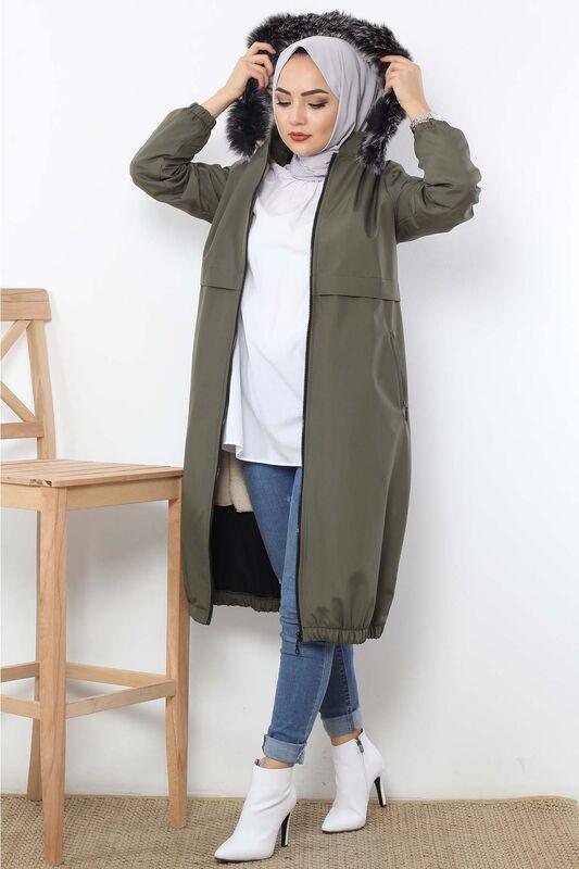 Rain Proof Bondit Coat TSD3009 Khaki