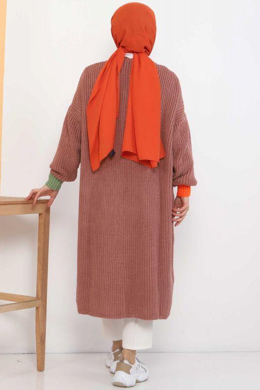 Shabby Knitwear Cardigan TSD2449 Dried Rose
