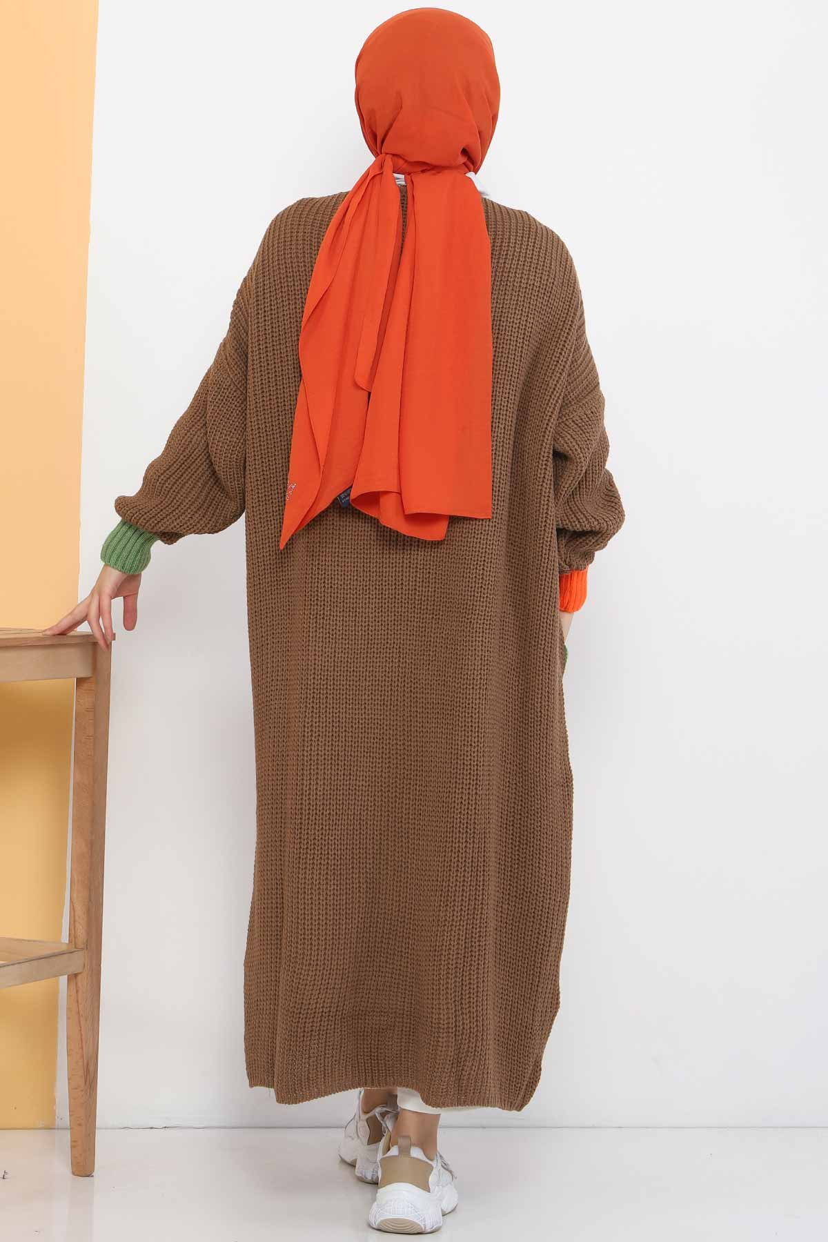 Shabby Knitwear Cardigan TSD2449 Mink