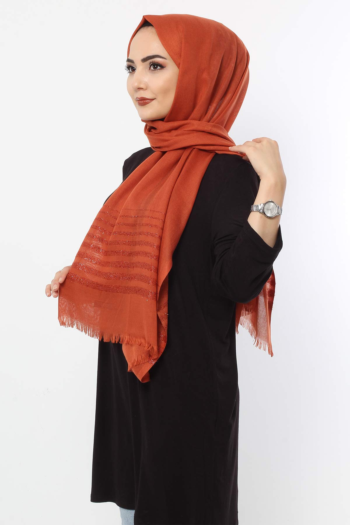 Silvery Shawl S003 Tile