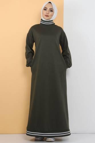 Tesettür Dünyası - Spor Elbise TS10484 Haki