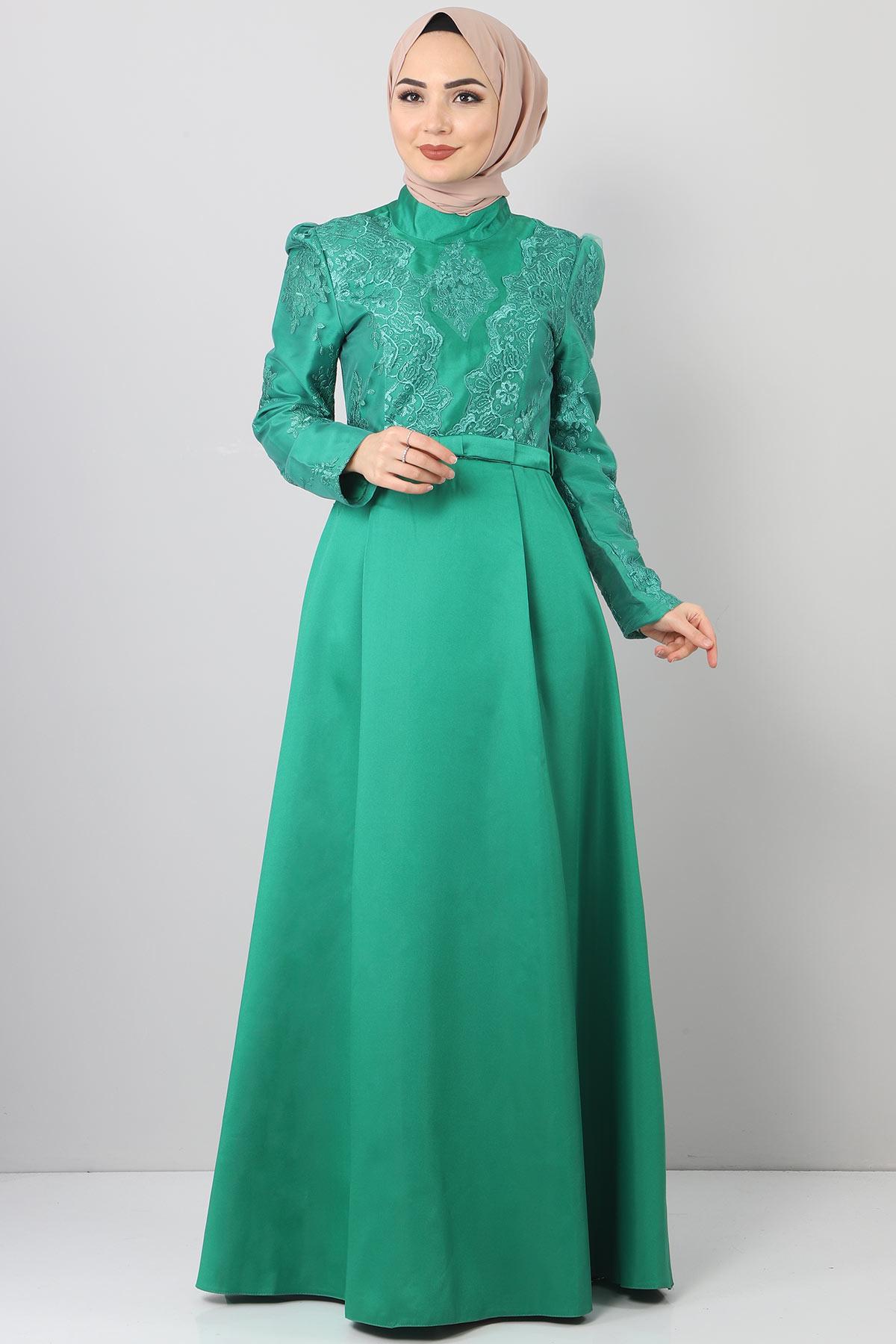Sultan Abiye TSD8723 Yeşil