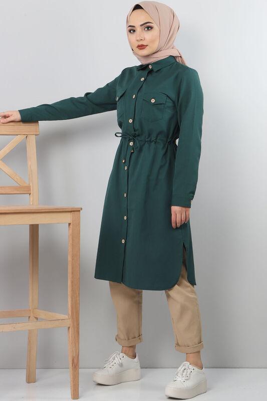 Tie Waist Tunic TSD1612 Green.