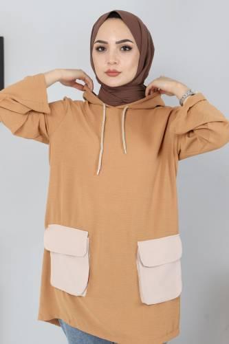 Torba Cepli Tunik TSD03317 Camel - Thumbnail