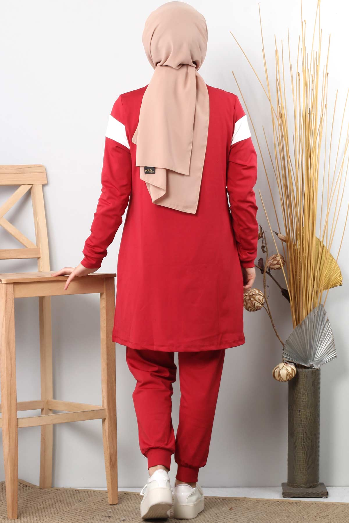 Tracksuit Set TSD1809 Red