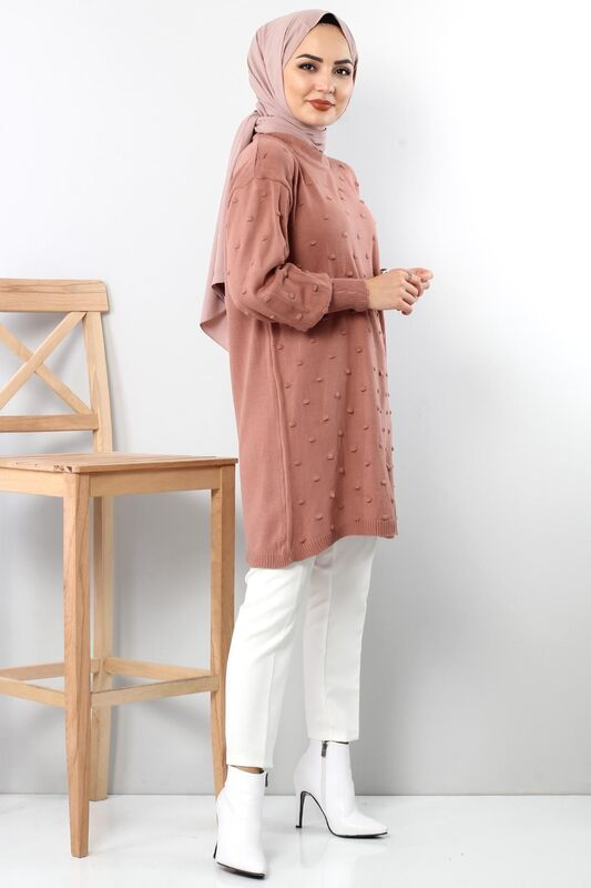 Tricot Tunic TSD3752 Dried Rose
