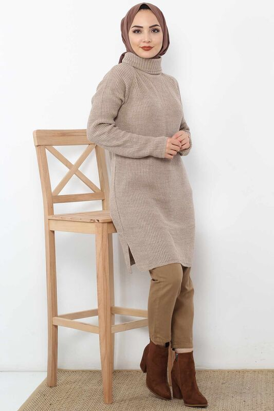 Tricot Tunic TSD6045 Brown.