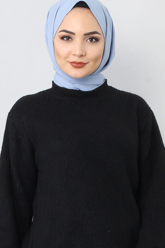 Tricot Wide Sleeve Sweater TSD3647 Black.