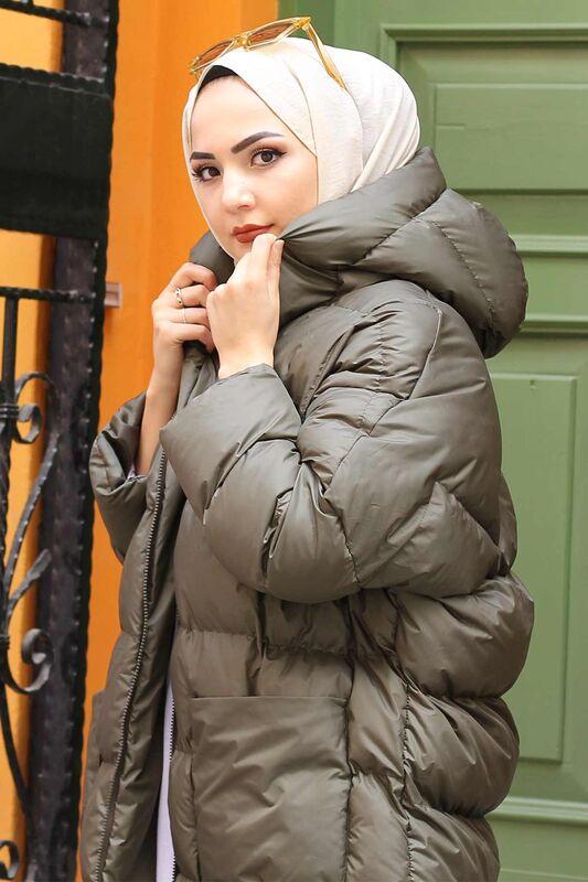 معطف قابل للنفخ TSD1186 كاكي