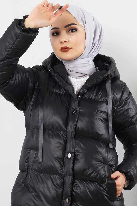 معطف منفوخ TSD2250 أسود