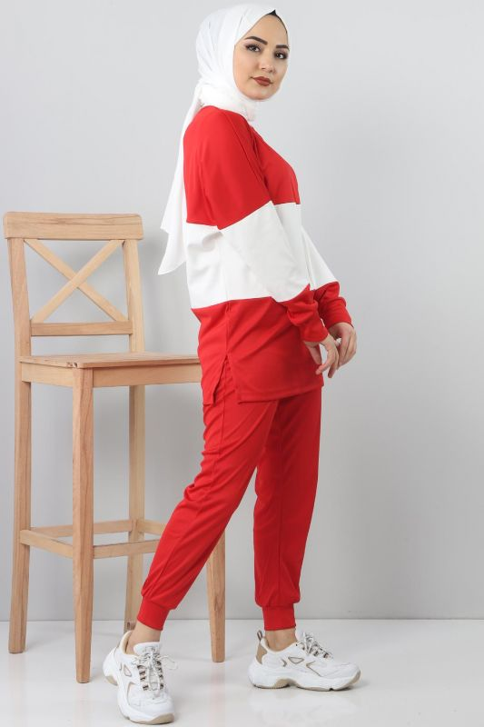 TSD9984 Sports Suit - Red