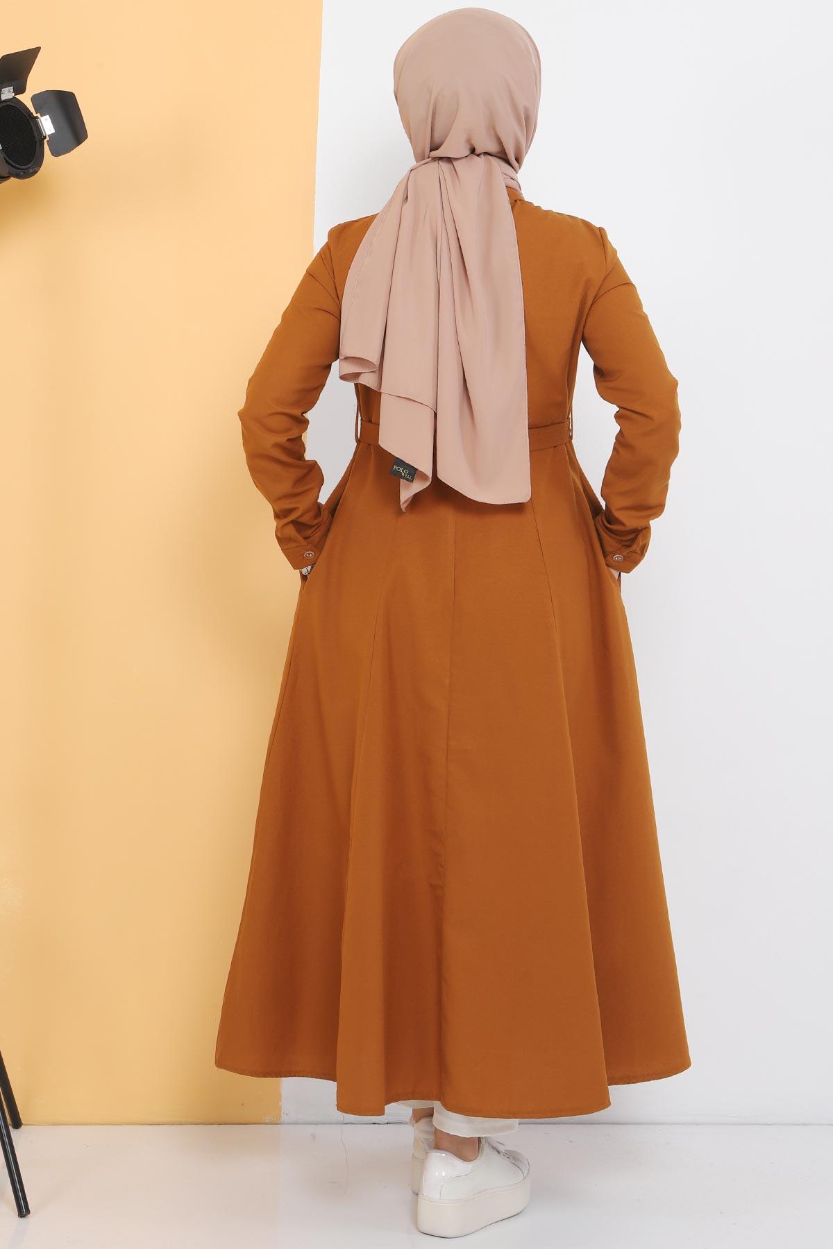 Uzun Tunik TSD2738 Taba