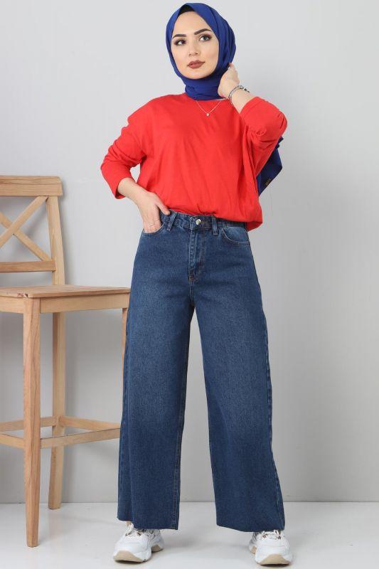 Wide Jeans TSD22006 Dark Blue
