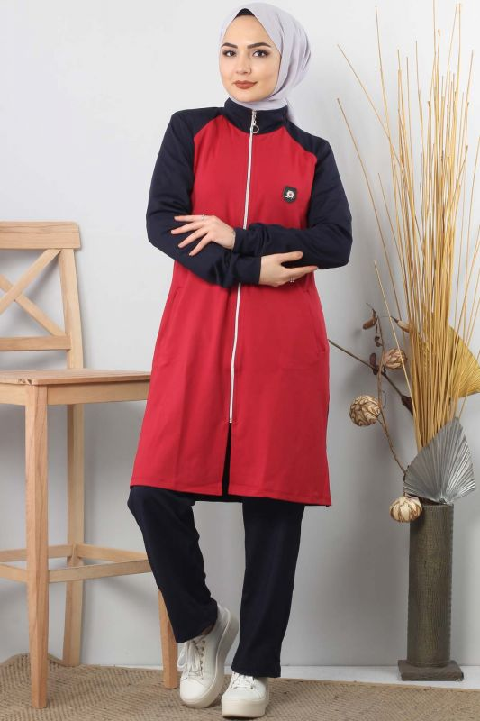 Zip Up Tracksuit TSD1782 Navy Blue